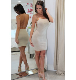 22437 Open Back Mini Dress