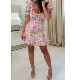 secret & Saints 62235 Floral Print Dress