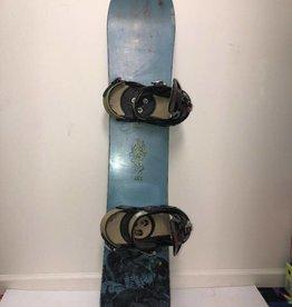 CONSIGN Men's Burton A.45 Snowboard w/ Burton Mission Bindings 145cm