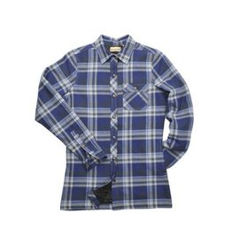 Backpacker BACKPACKER Ladies' Quilted Flannel Shirt -  Blue Green