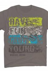 Morsel Munk HFGY Distressed Stripe T-Shirt