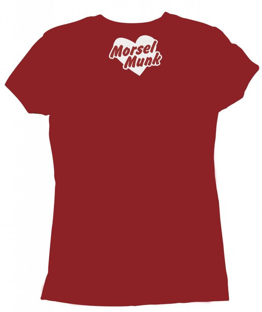 Morsel Munk HFGY V-Neck Heart T-Shirt