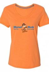 Morsel Munk HFGY Orange V-Neck T-Shirt