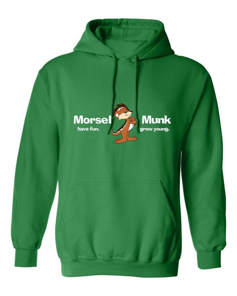 Morsel Munk HFGY Green Hoodie