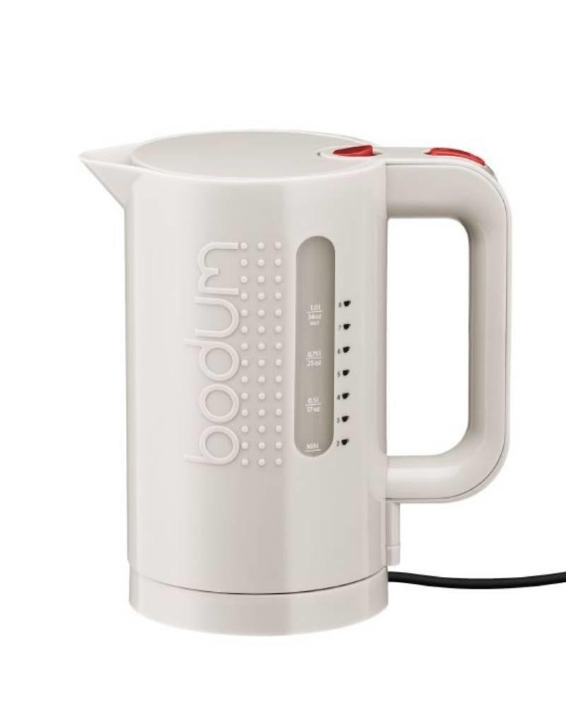 Bodum Bodum - Bouilloire Electrique, 1L, 34 oz. - Blanc