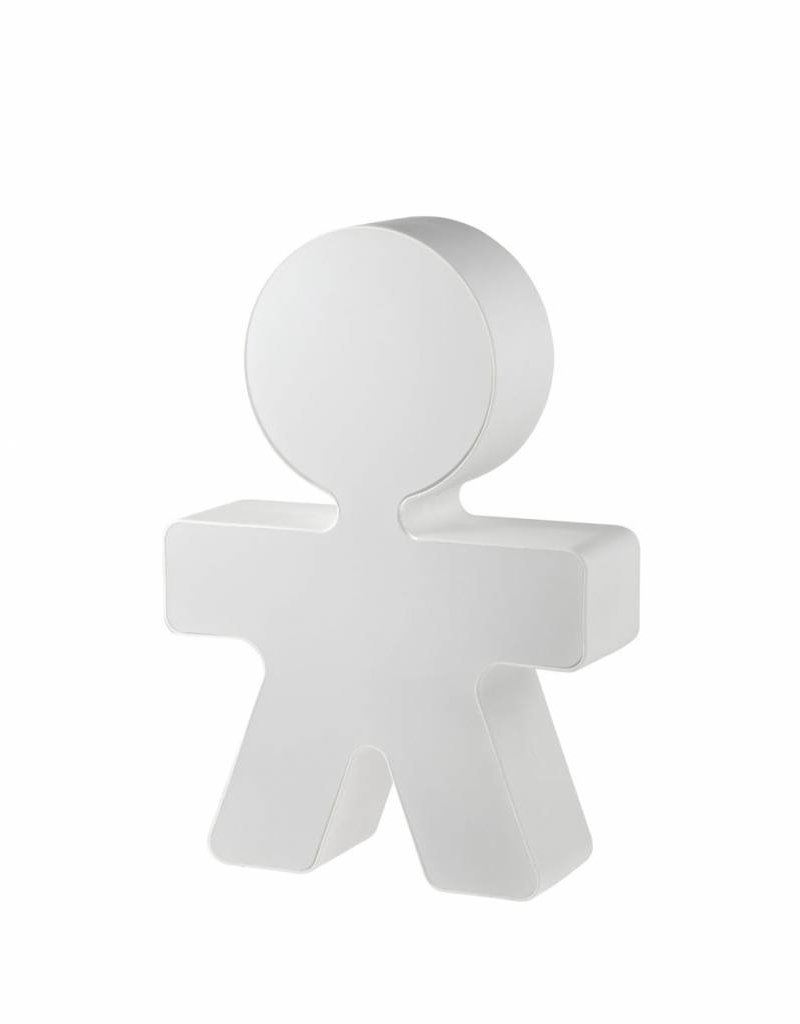 Alessi Alessi - Table lamp in thermoplastic resin white