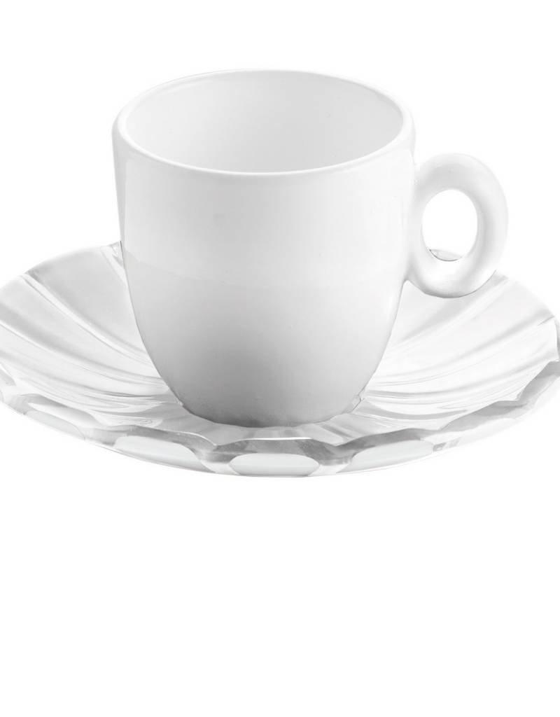 Guzzini Guzzini - Grace Ensemble 2 Tasses Espresso Blanc