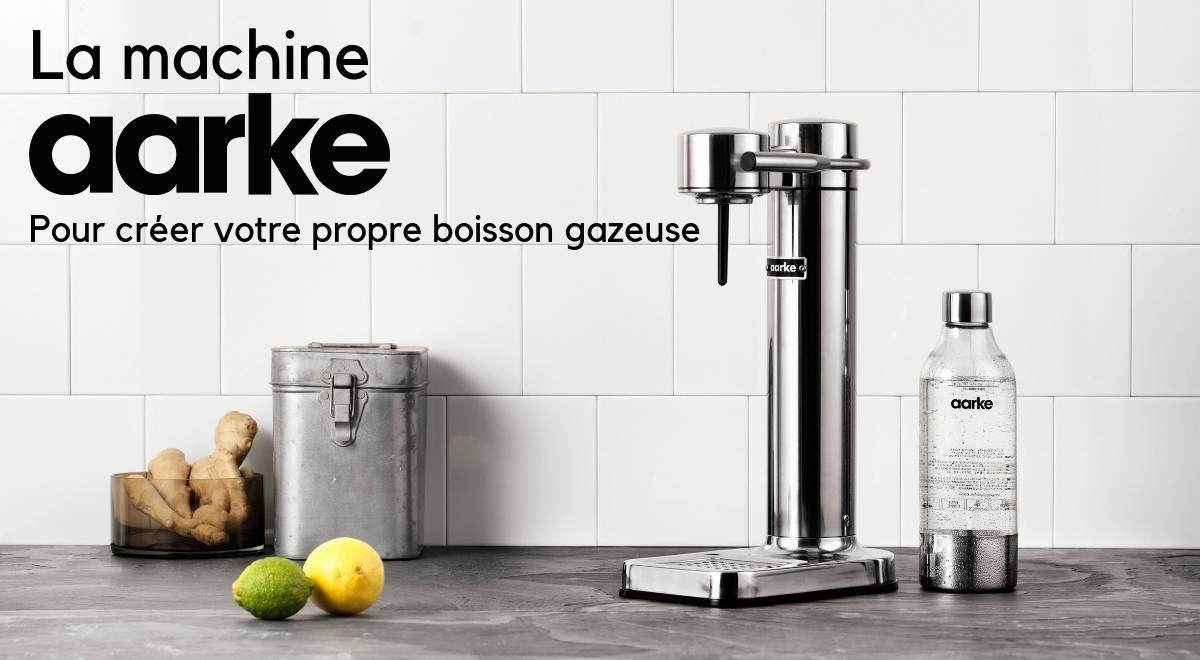 Aarke créez votre propre boisson gazeuse