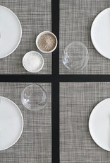 Chilewich Chilewich - Mini Basketweave Placemat in Gravel 14x19