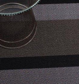 Chilewich Chilewich - Bold Stripe Shag Sliver/Black 24x36
