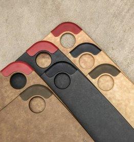 Epicurean Epicurean - Nutmeg/Red Nonslip Series Cutting Board 12x9