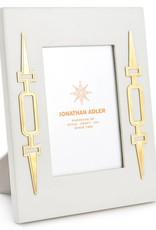 Jonathan Adler Jonathan Adler - Cadre Turner Blanc 5x7