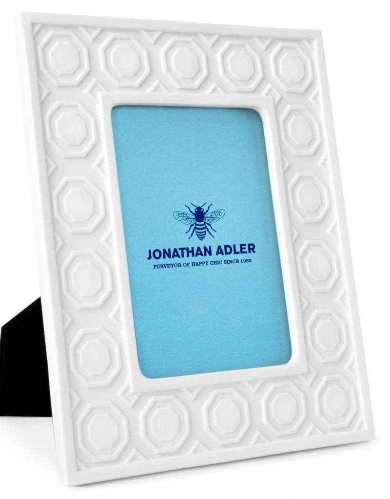 Jonathan Adler Jonathan Adler - Cadre Charade Moulding Blanc 5x7