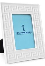 Jonathan Adler Jonathan Adler - Charade Frame Greek Key White 4x6