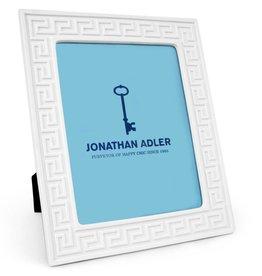 Jonathan Adler Jonathan Adler - Charade Frame Greek Key White 8x10