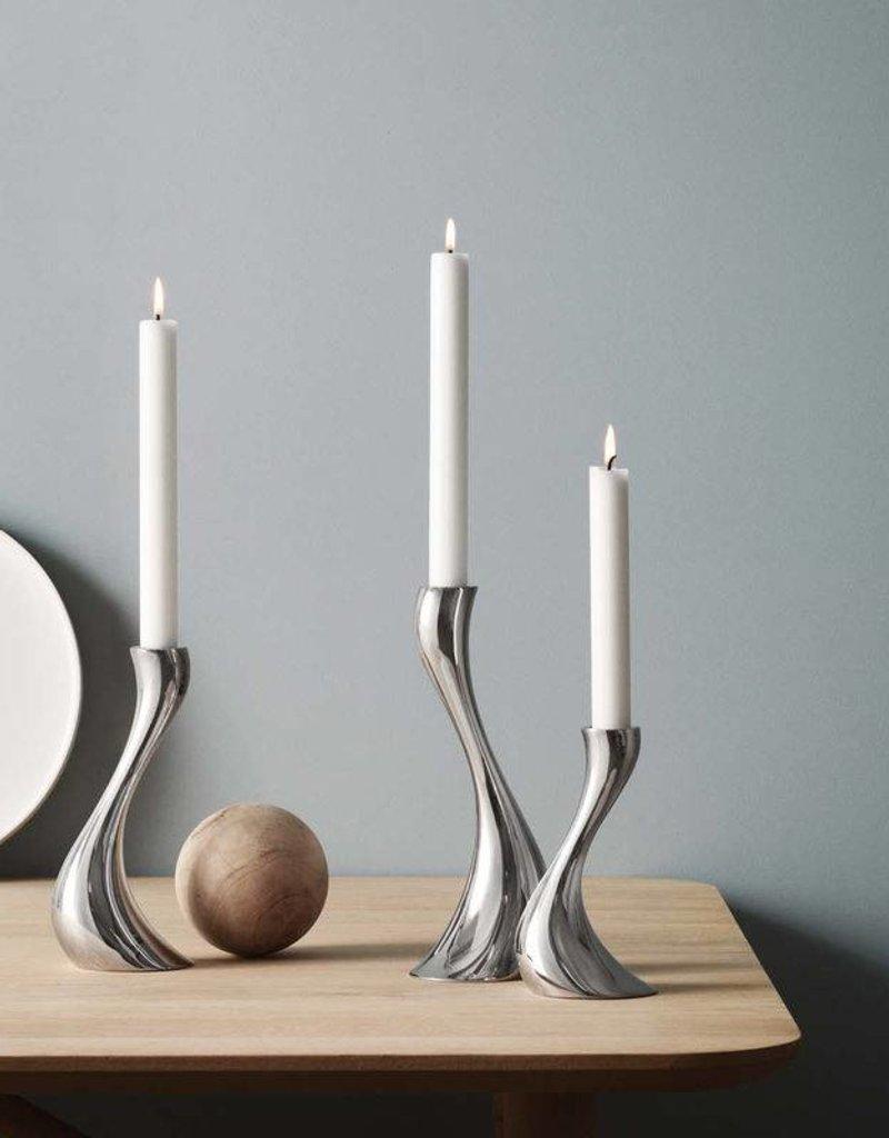 GEORG JENSEN Georg Jensen - Cobra Candleholder, 3 Pieces