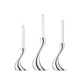 GEORG JENSEN Georg Jensen - Cobra Porte Bougie, Ensemble de 3