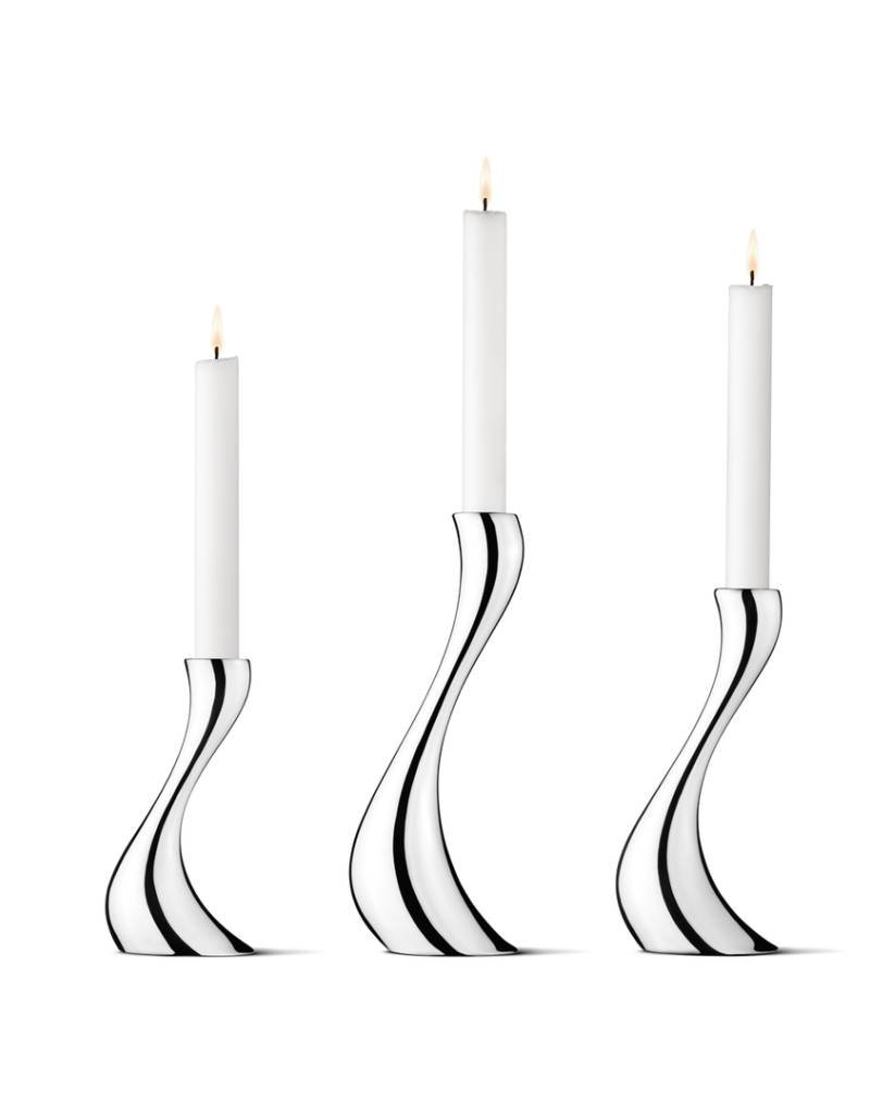 GEORG JENSEN Georg Jensen - Cobra Candleholder, 3 Pieces