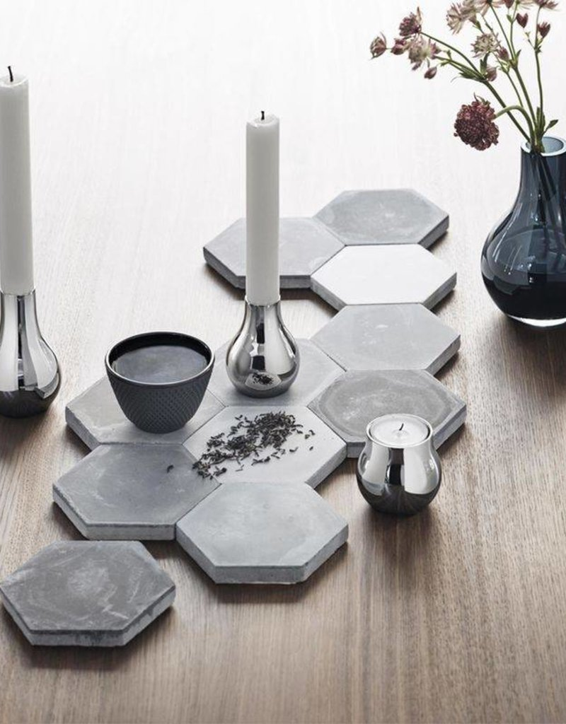 GEORG JENSEN Georg Jensen - Cafu Candleholder, 2 pieces