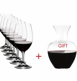 Riedel Riedel - Glasses S/6 + Decanter Ouverture