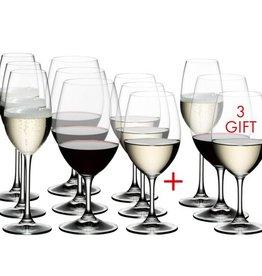 Riedel Riedel - Ouverture 9 Verres Vin Blanc/Magnum/Champagne Recevez 12
