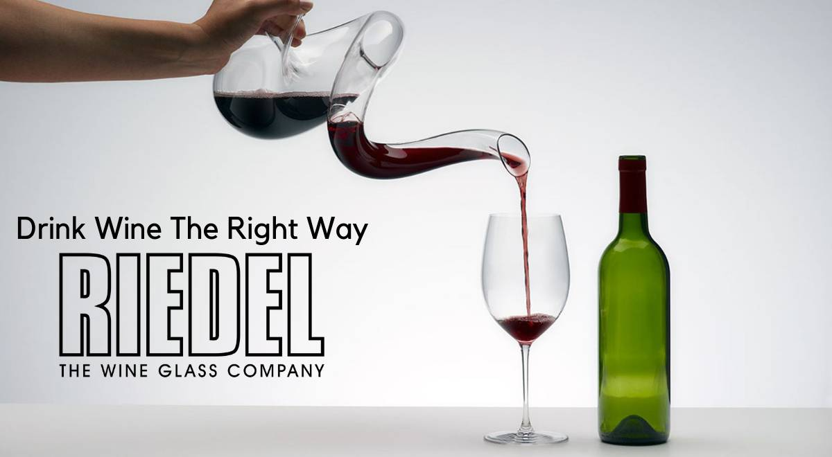 Riedel: Drink wine the right way