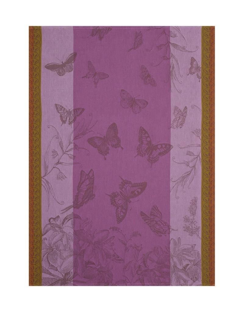 Le Jacquard Français Le Jacquard Francais - Torchon Jardins Papillons Iris