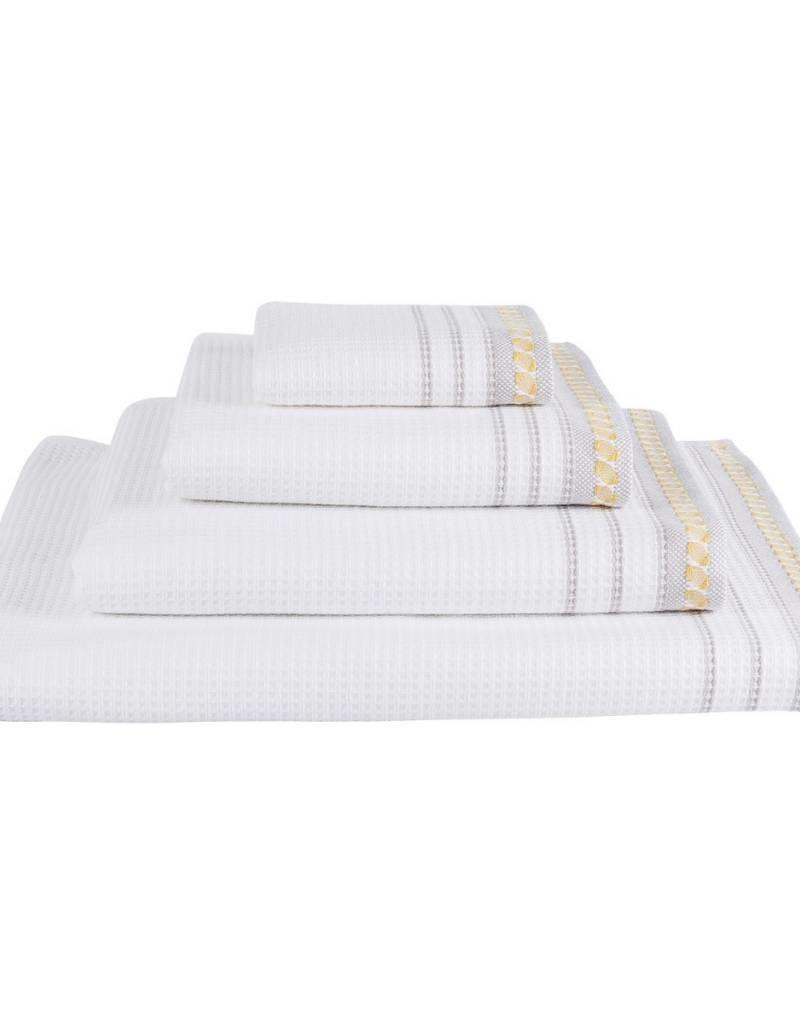 Le Jacquard Français Le Jacquard Francais - Drap Douche/Bath Towel Envol 27x55in/70x140cm Jaune