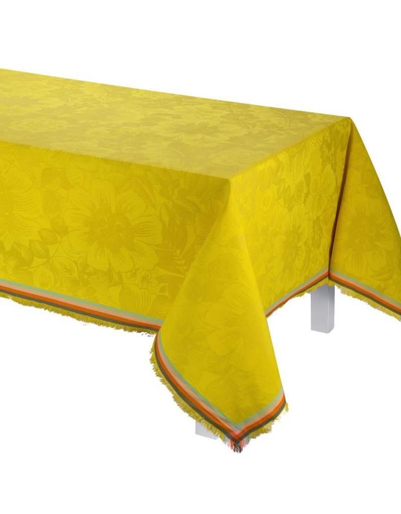 Le Jacquard Français Le Jacquard Francais - Nappe Boheme Cytise/Yellow 150x220/59x86
