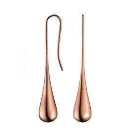 Calvin Klein Calvin Klein - PVD Boucles d'Oreilles Fermées Plaquées Rose