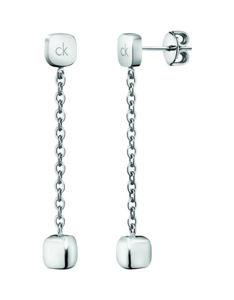 Calvin Klein Calvin Klein - Stainless Steel Side Drop Earrings