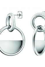 Calvin Klein Calvin Klein - Stainless Steel Locked Earrings