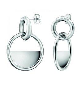 Calvin Klein Calvin Klein - Boucles d'Oreilles Verrouillées en Acier Inoxydable