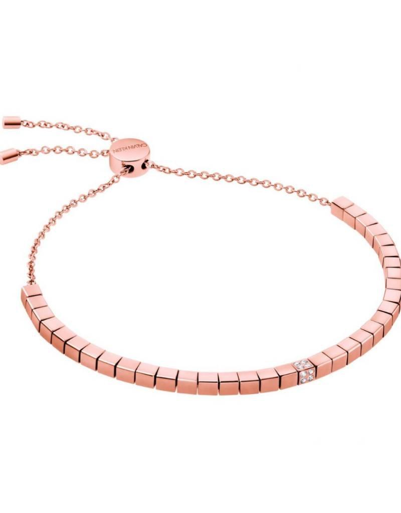 Calvin Klein Calvin Klein - Rose Gold Plated Tune Bracelet