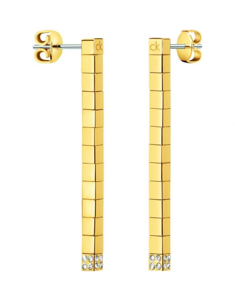 Calvin Klein Calvin Klein - Gold Plated Tune Earrings
