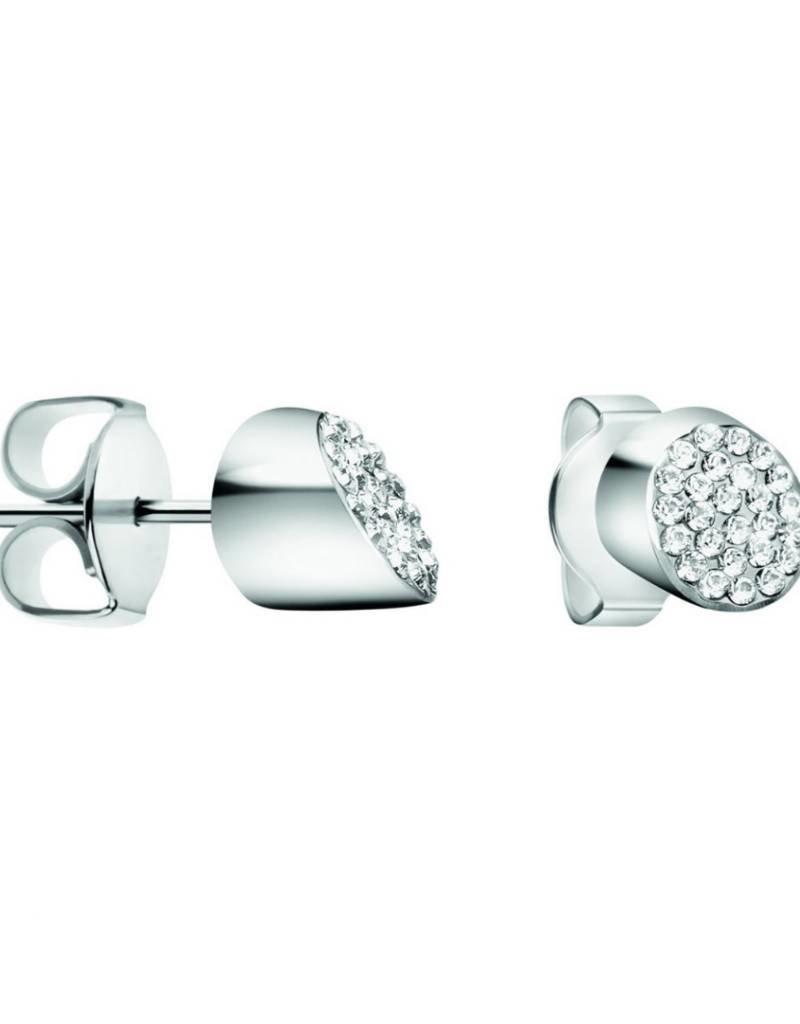 Calvin Klein Calvin Klein - Silver Plated Brilliant Earrings