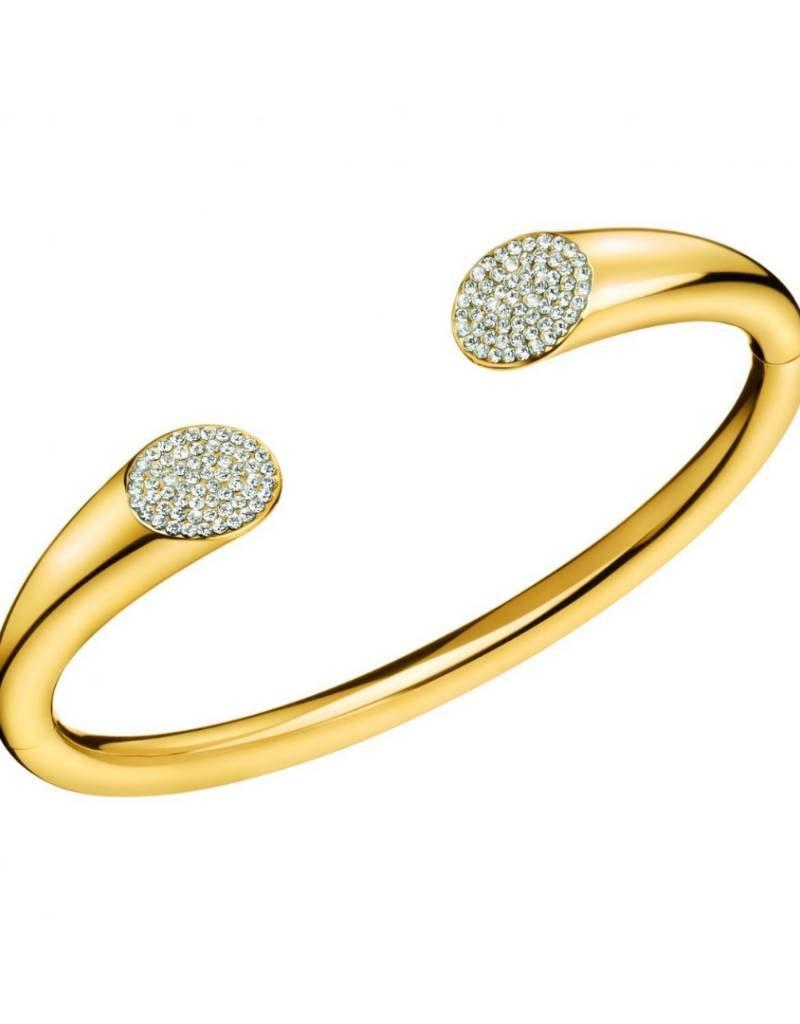 Calvin Klein Calvin Klein - Gold Plated Brilliant Bangle