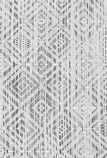Chilewich Chilewich - Napperon Mosaic Blanc/Noir