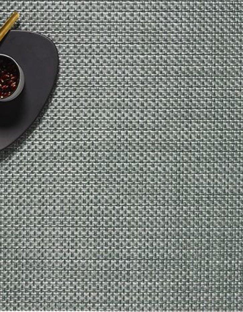 Chilewich Chilewich - Placemat Basketweave 14x19 Jade