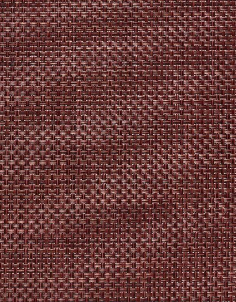 Chilewich Chilewich - Napperon Basketweave 14x19 Pomegranate