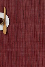 Chilewich Chilewich - Napperon Bamboo 14x19 Cranberry