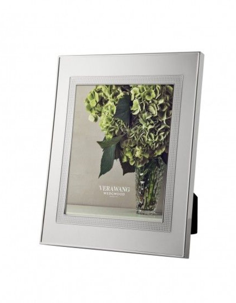 Vera Wang for Wedgwood Vera Wang - Cadre Blanc Sur Blanc 8x10