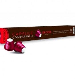 Bellucci Caffitaly - Deciso Compatible Nespresso (Box 10)
