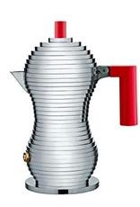Alessi Alessi - Pulcina 6 Cups Red Espresso Maker