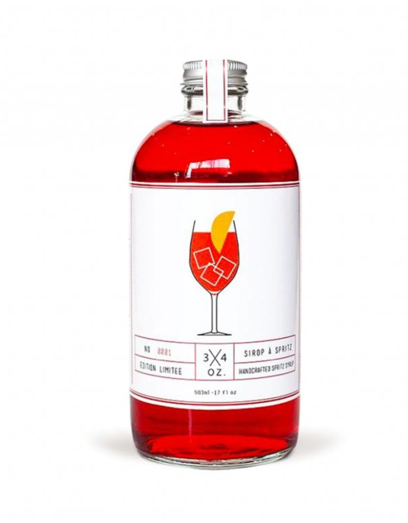 3/4 oz. Tonic Maison 3/4 oz.  - Spritz Maison 500ml