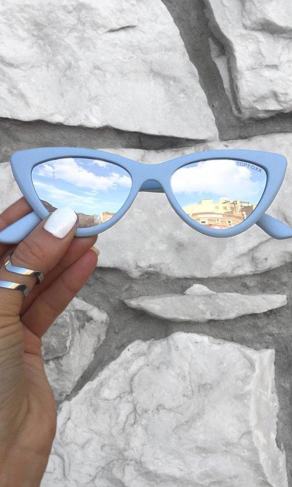 Matrix Sunnies - Light Blue