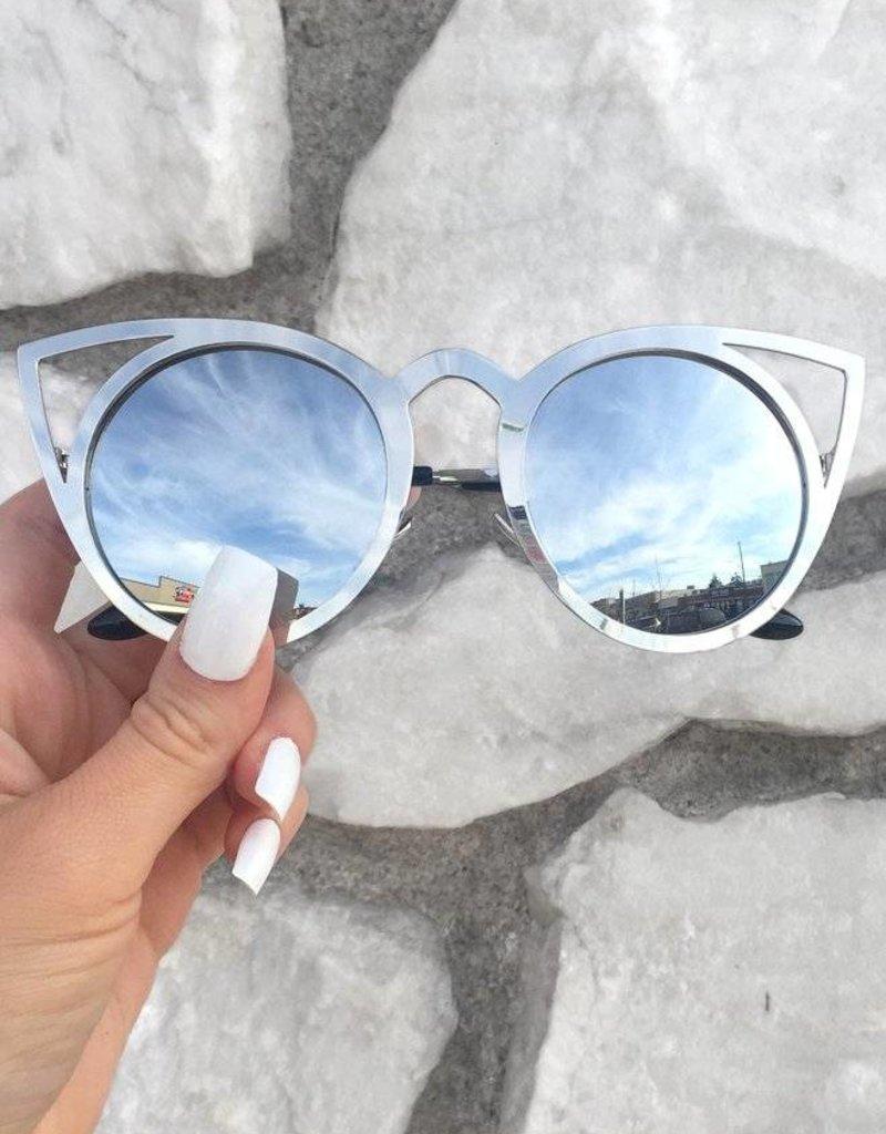 KittyKat Sunnies - Silver