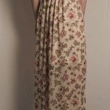 Floral Printed Maxi Dress w/ Ruffles