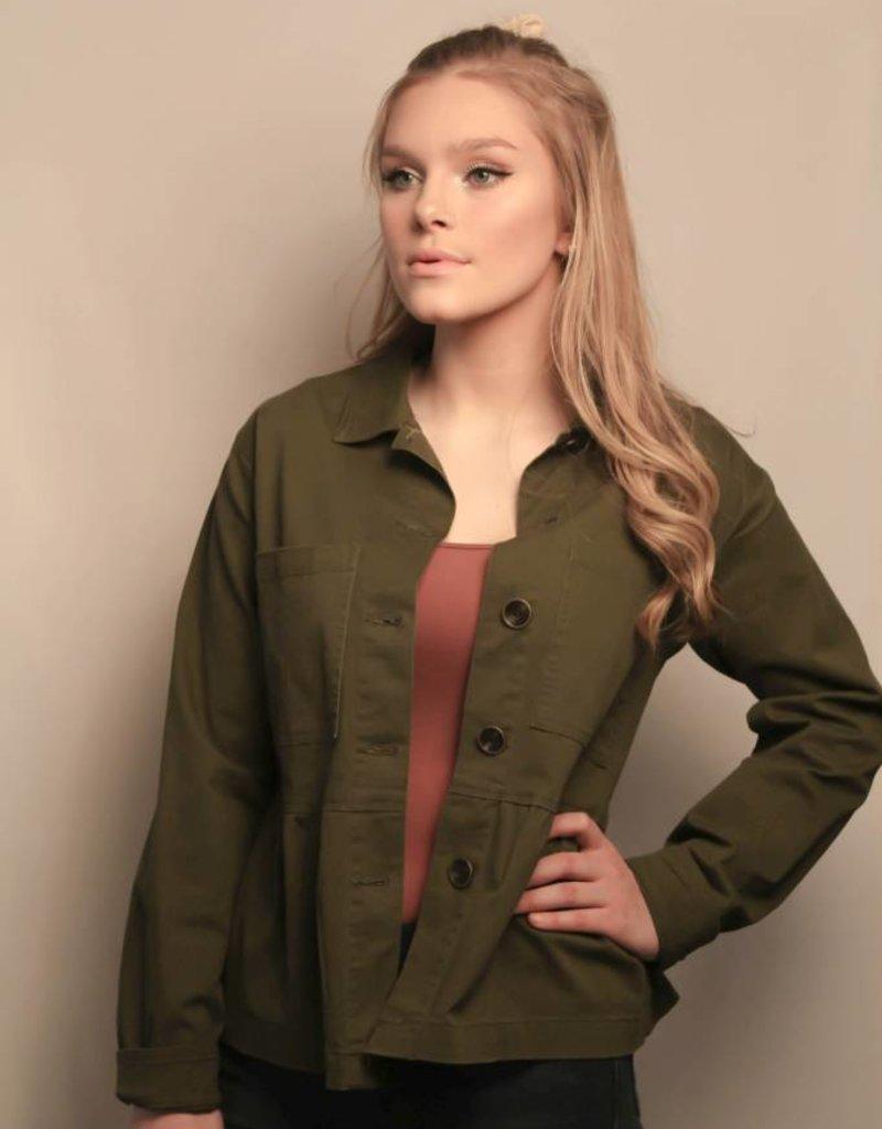 Lola Jacket/ Army Green