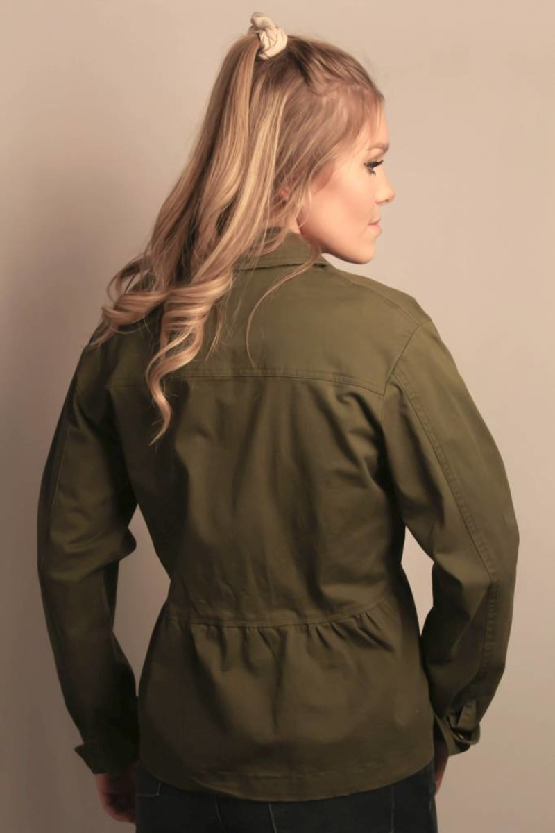 Lola Jacket/ Army Green